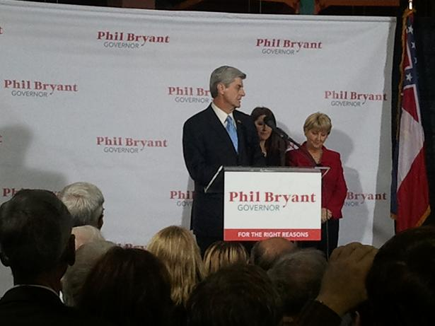 Ross Barnett Reservoir Phil Bryant Running For Governor