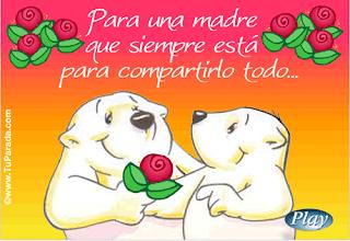 tarjetas felicitacion dia de la madre