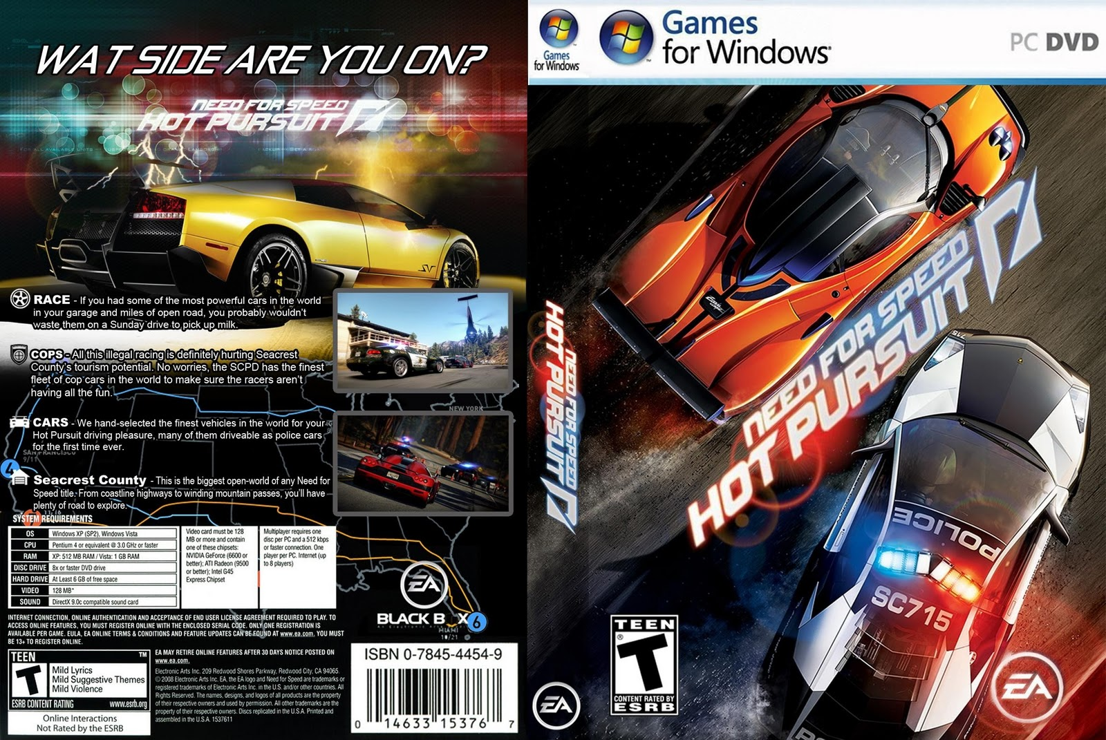 Capa Need for Speed Hot Pursuit PC