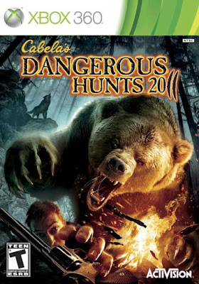 xbox 360 cabelas dangerous hunts 2011 Download Cabela's Dangerous Hunts 2011   Xbox 360