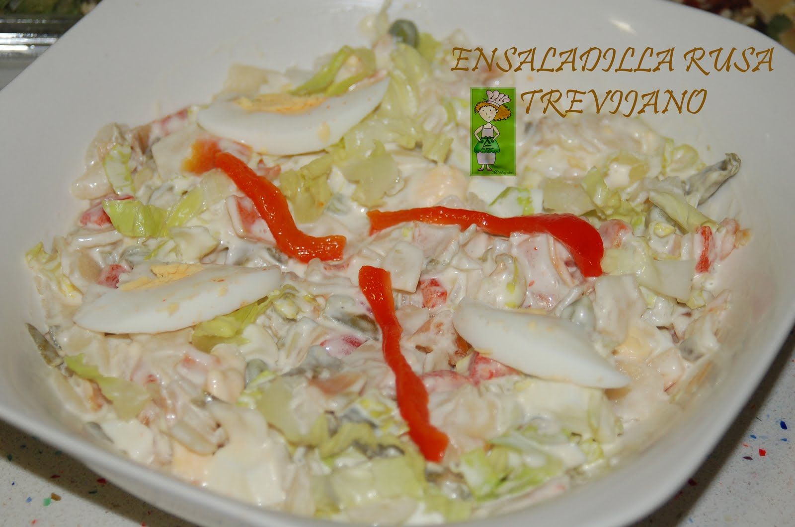 Cocinar sin miedo ensaladilla rusa trevijano for Cocinar ensaladilla rusa