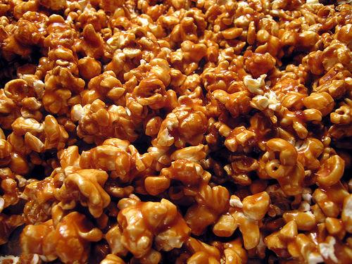 Попкорн сладкий в домашних условиях