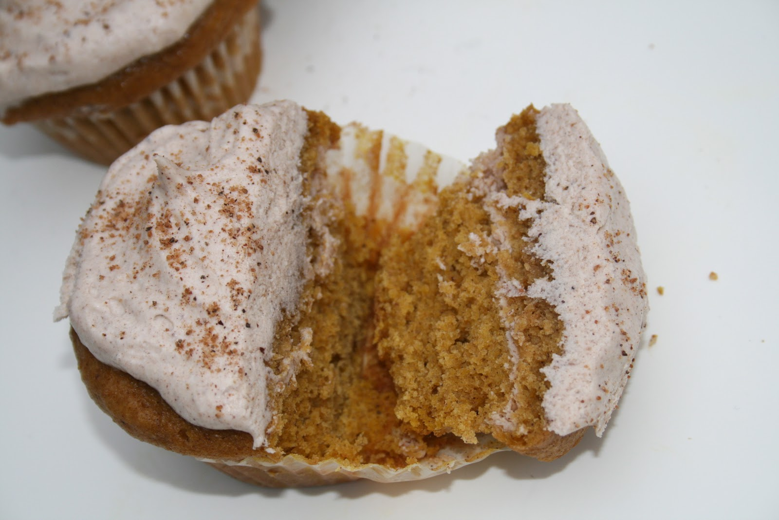 Filled Pumpkin Cupcakes