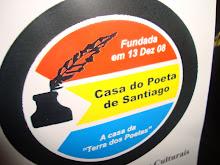Leia o Blog da Casa do Poeta de Santiago!
