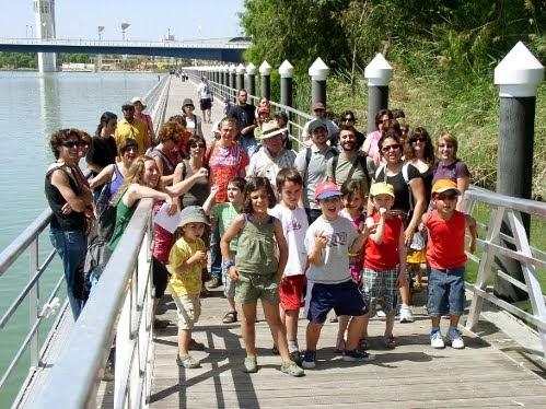 Peatones de sevilla blog visita al jard n americano for Jardin americano sevilla