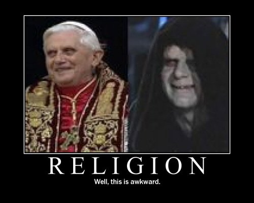humor Sith+pope
