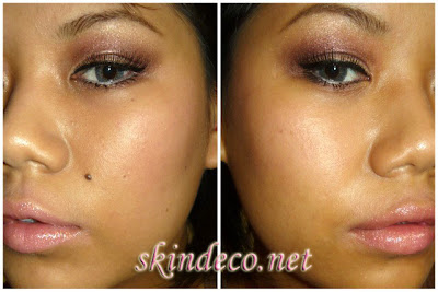 Primer on Skin Deco  Part One  Shimmer Plum Holiday Makeup With The Body Shop