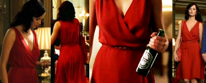 Eva Green Red Dress Casino Royale photo