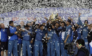 Deccan Chargers - The IPL 2 Champions...