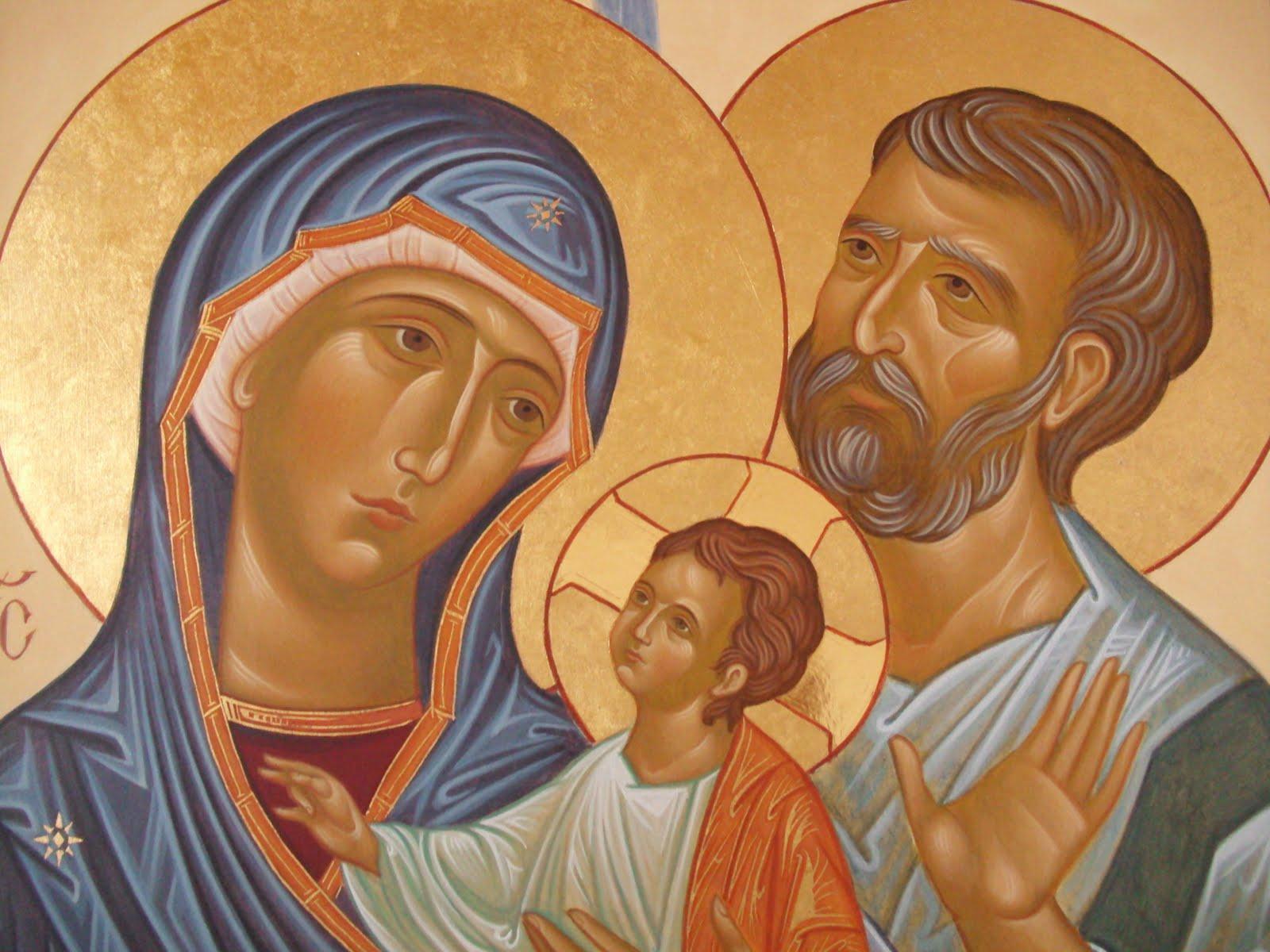 Non Solo Icone La Sacra Famiglia