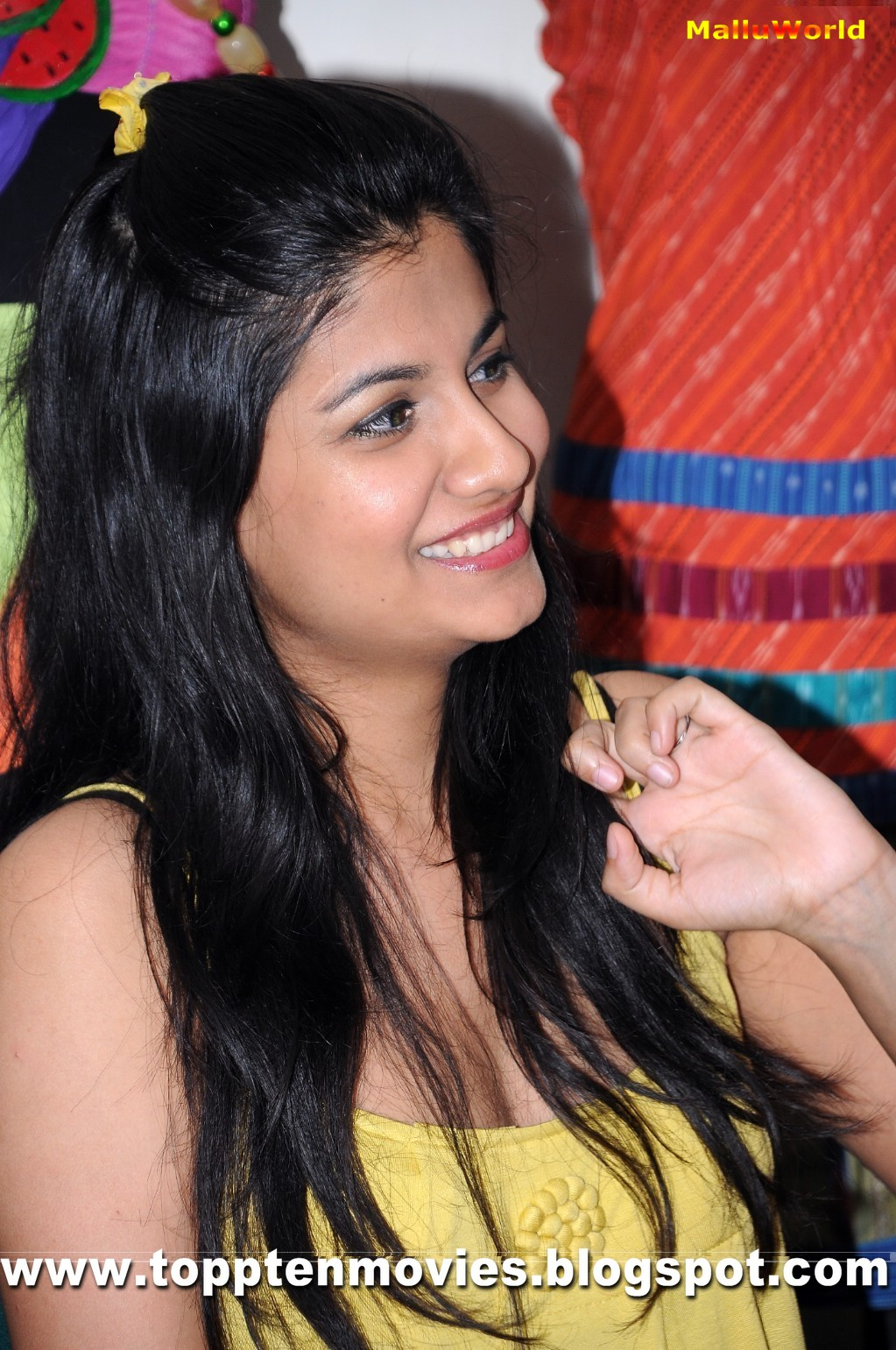 Shreya Dhanwantary Hot Pics in Yellow Dress
