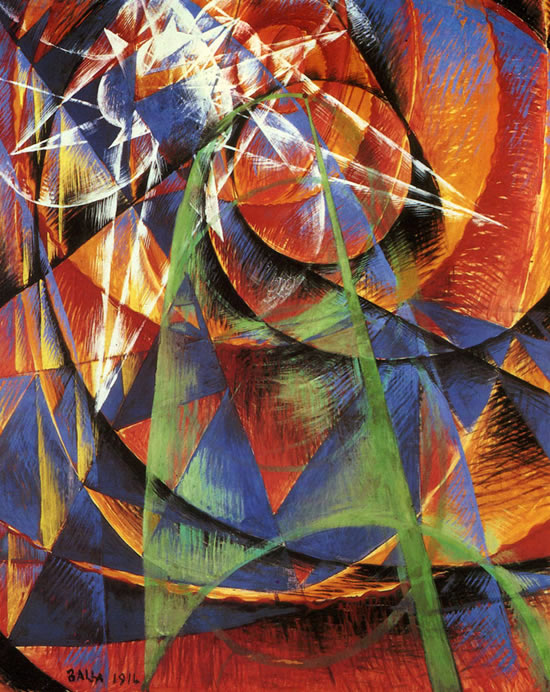 Giacomo Balla – Into the Future | Orwellwasright's Weblog