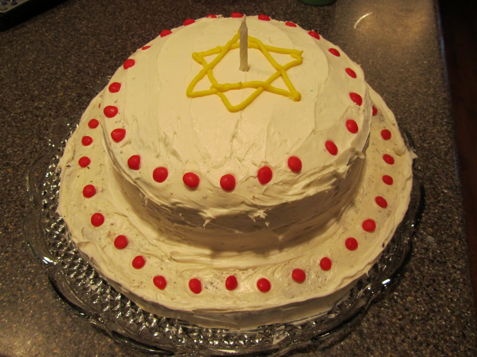 Living The Good Life Jesus Birthday Cake