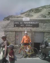 Naranjito en el Tourmalet