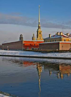 Петропавловский собор на территории Петропавловской крепости