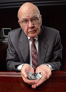 a biography of jack s kilby Electrical engineer jack kilby invented the integrated circuit, also known as the microchip a microchip is a set of interconnected electronic components such as transistors and resistors that are etched or imprinted onto a tiny chip of a semiconducting material, such as silicon or germanium the.