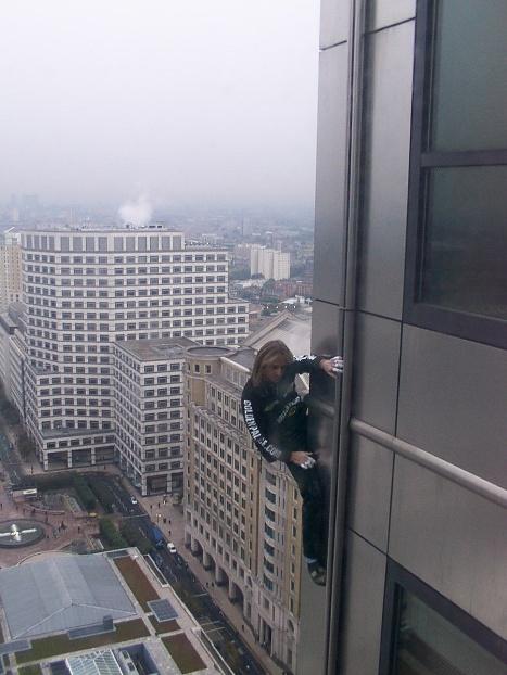 climber+Alain+Robert5 Amazing Wall Climber
