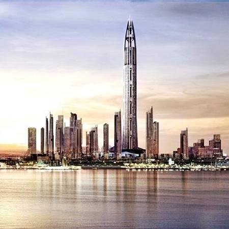 nakheel tower dubai pics