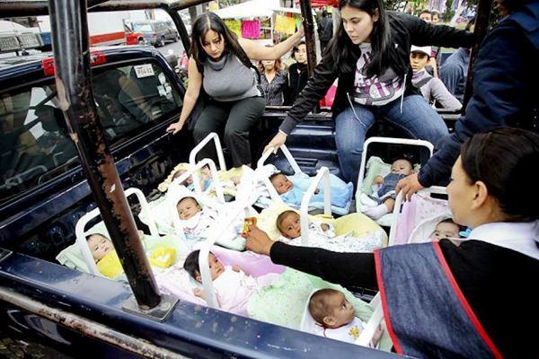 جابجایی نوزادان به روشی منحصر به فرد