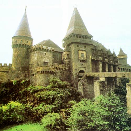 Hunyad Castle: were Dracula was held prisoner