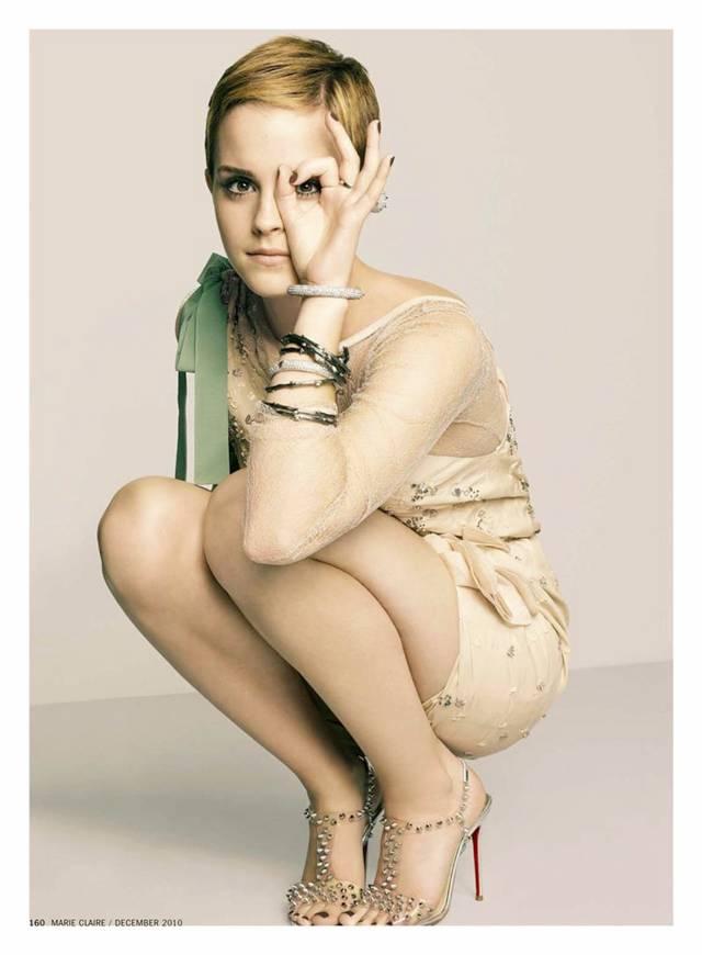 Emma Watson Modeling 2010. Emma Watson graces the cover