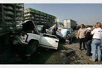 More Than 100 Cars Trucks And Big Rigs Were Involved In A Pile Up On Highway 99 Just South Of Fresno CaliforniaThe Is Said To Be Cause By Dense