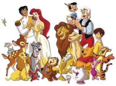 Disney or Looney Tunes Disney-Characters-jpg