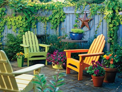 A passion for beautiful things lovely outdoors for Better home and garden deck design
