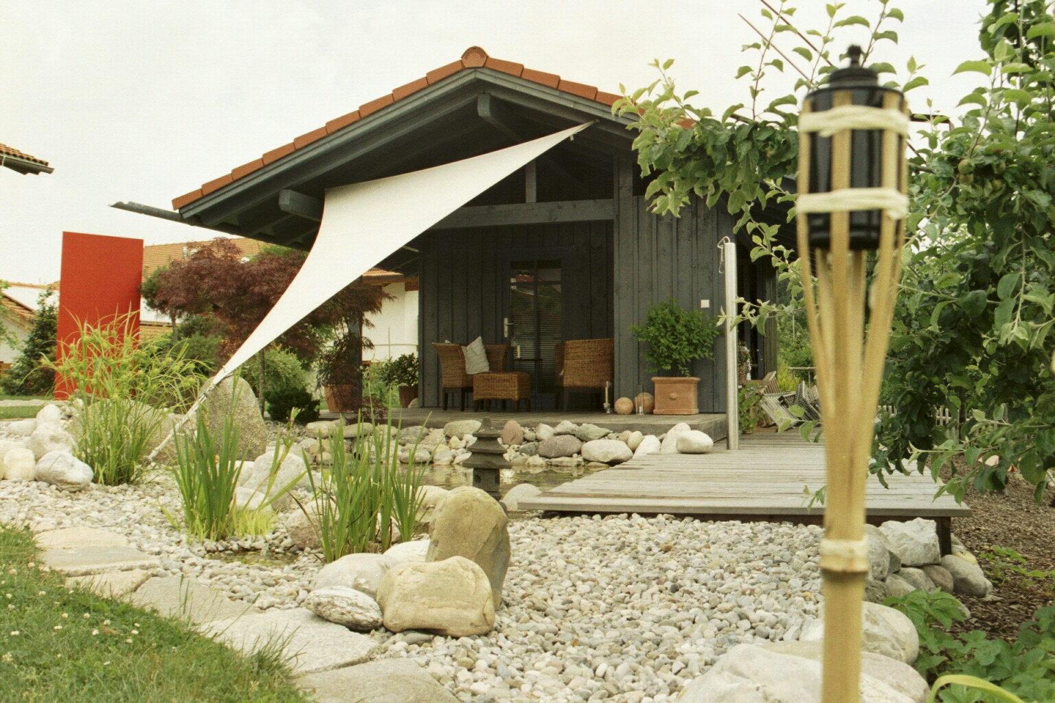Feng Shui Backyard Bagua :  home garden yard Woodstock feng Poner el mapa ba gua sobre tu patio