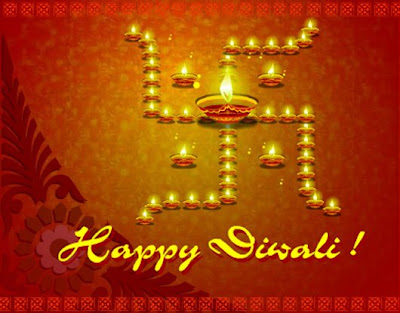Happy Diwali Glitter Greetings