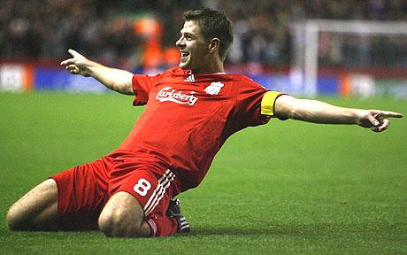 Gerrard the saviour on mission