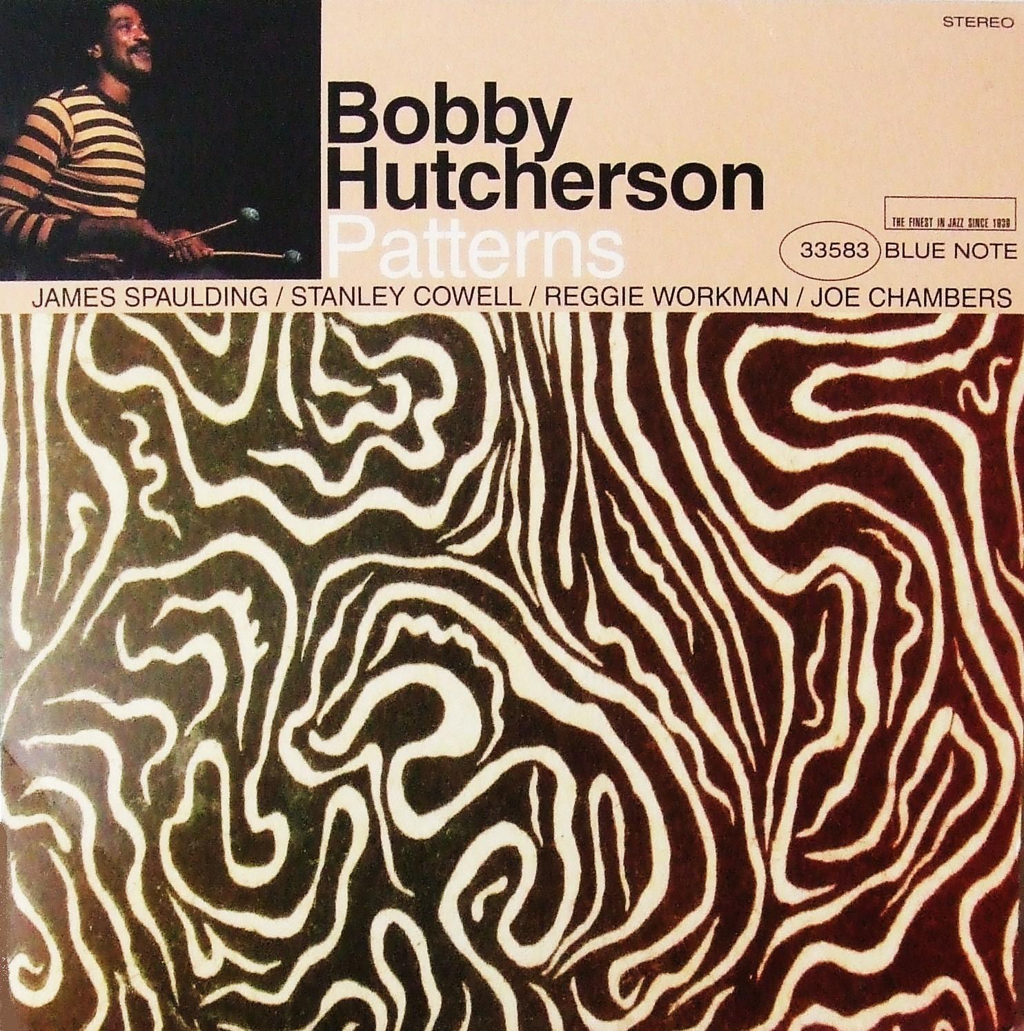 bobby hutcherson - patterns (sleeve art)