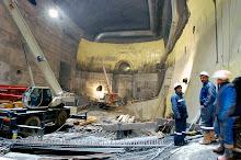 LHC CERN CMS Cavern