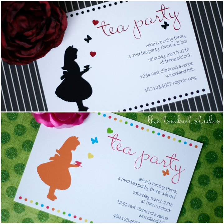 New Party Collection & Upcoming Photo Shoot} Alice in Wonderland ...