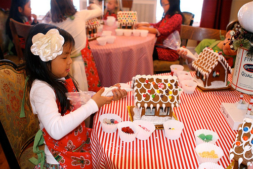 The Tomkat Studio Real Parties Gingerbread House