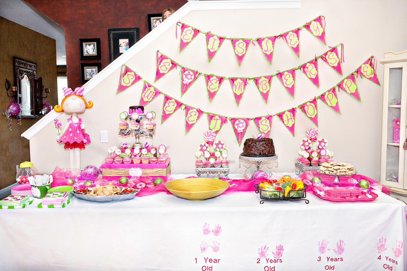The TomKat Studio Pink Sweet Shoppe Birthday Party