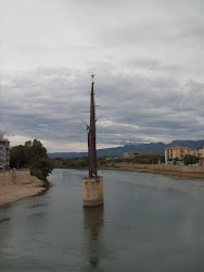Retirada del monument del riu