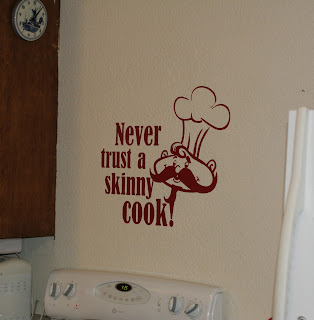 Wall Decor  Kitchen on Decorating With Wall Vinyl  New Kitchen Wall Decor   A Great Snowy Day