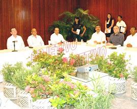 EL GOBERNADOR TORREBLANCA Y AÑORVE EN EL CENTRO ACAPULCO