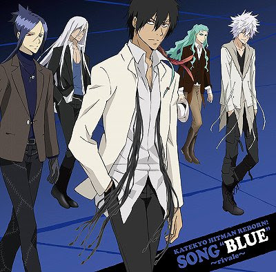 New Character songs Red ~Famiglia~ - Blue ~Rivale~ Blue+rivale