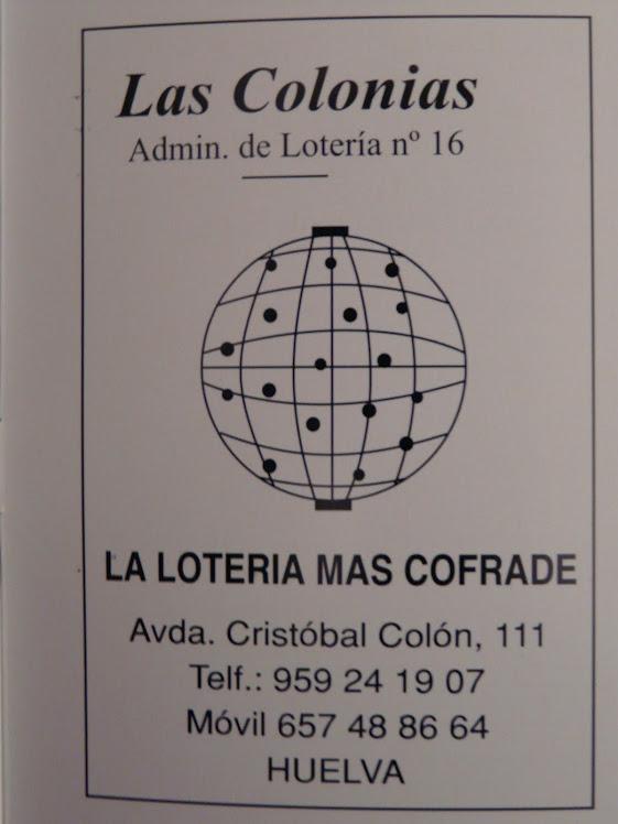 LA LOTERIA MAS COFRADE
