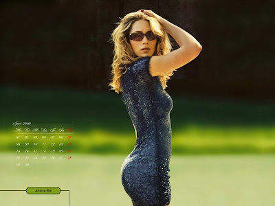 Here you got the Jessica Biel 2009 calendar photo shoot. Enjoys.