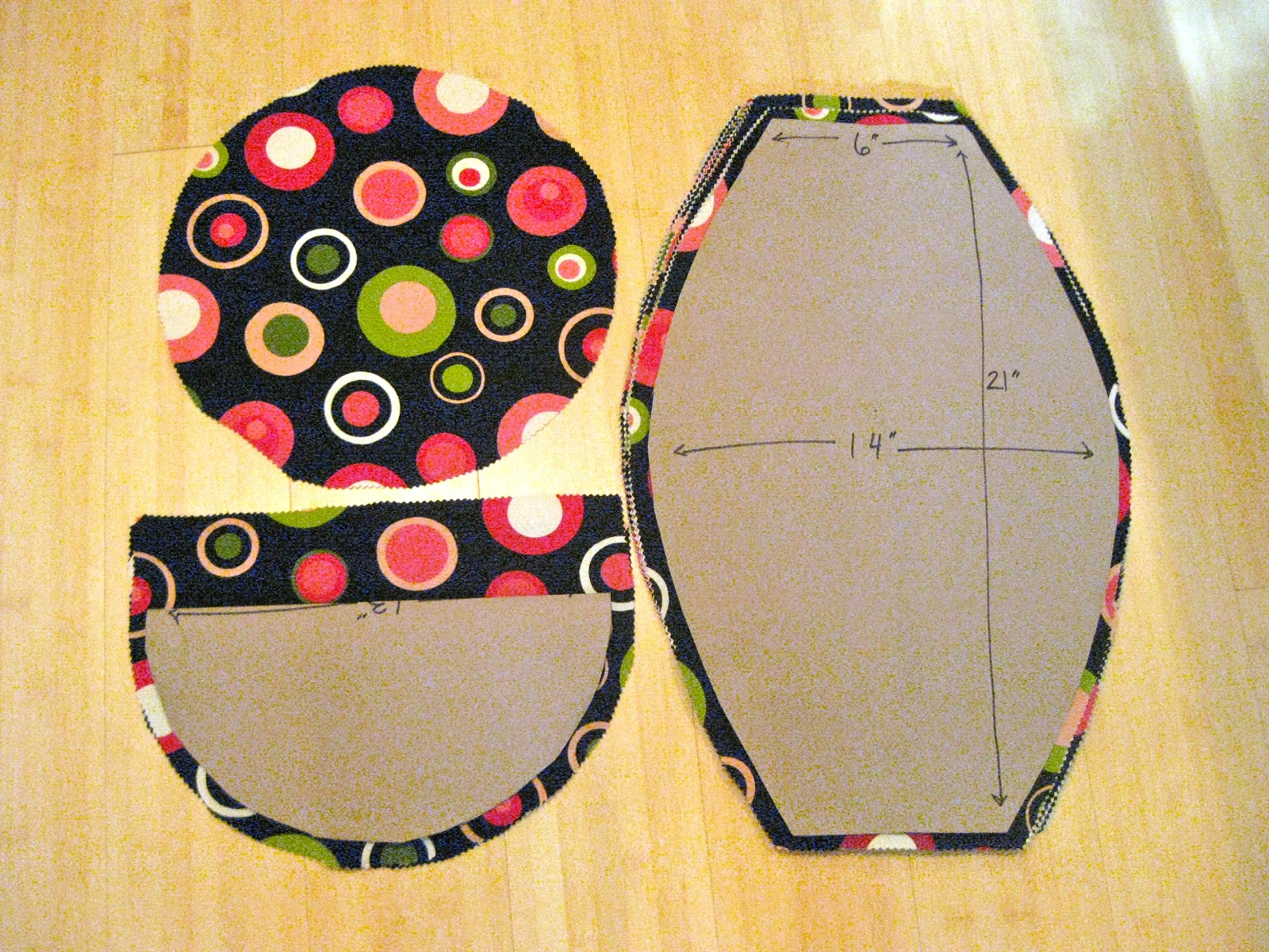 Bean Bag Chair Pattern Template http://summerdoyle.blogspot.com/2010_10_01_archive.html