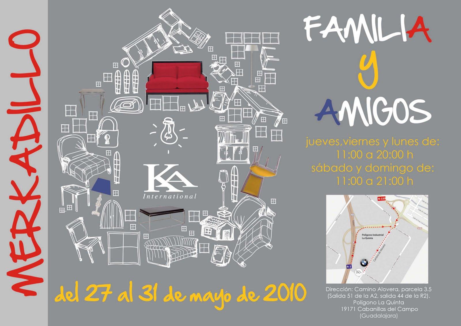 Mercadillo familia y amigos de ka internacional madridecora decoraci n - Ka internacional ...