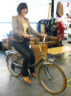 quirk & son: 1970's peugeot folding bike: french parts
