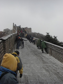  The Great Wall of China was my great slide. WEAR GOOD SHOES! How come nobody tells you that?