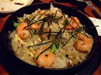 鮮蝦帆立貝炒飯