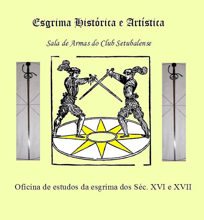 Esgrima Histórica e Artística no Club Setubalense