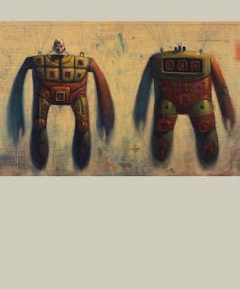 mars-1 robot art