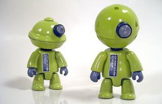 mike slobot robot art